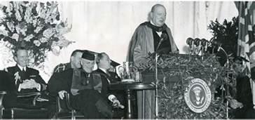 Who Named The Iron Curtain Fulton Missouri 1946 The International Churchill Society