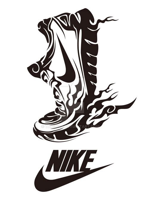 tribal nike by takihisa on deviantart