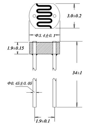 light dependent resistor specifications high quality light dependent resistor photoresistor pir sensor cds photoresistor cell metal
