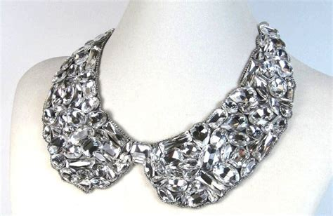 Handcrafted Bridal Jewelry - statement wedding jewelry bridal necklace etsy handmade 7
