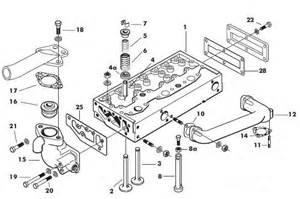 massey ferguson 135 cylinder parts