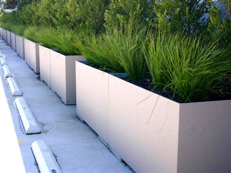 Grc Planter Boxes lightweight concrete planters from mascot precast grc product ods
