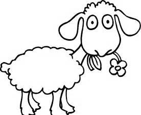 sheep coloring page the sheep are flowers coloring pages sheeps
