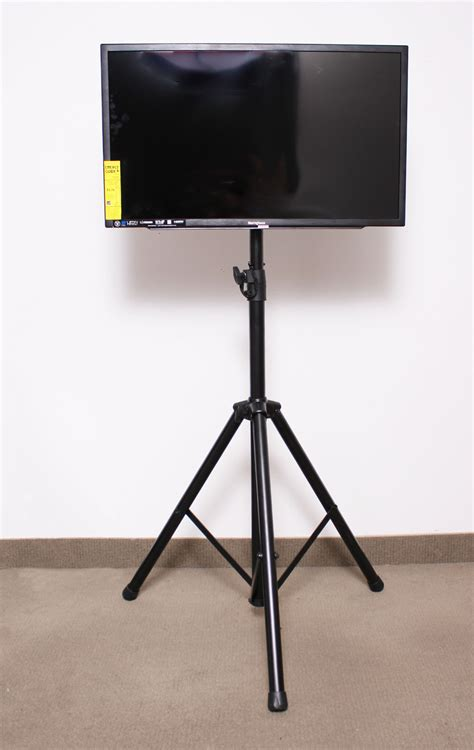 Tripod Lcd novoworks specialty s75200 flat panel lcd tv monitor stand with tripod legs