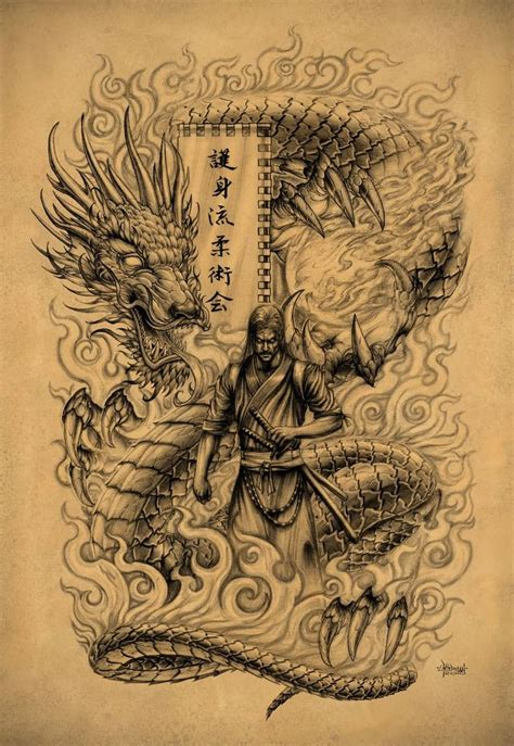 dragon warrior tattoo designs 18 best warrior drawings images on