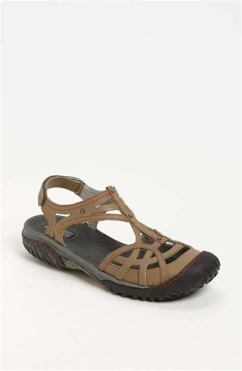 jambu sandals jambu all terra coconut sandal in gray vintage grey lyst