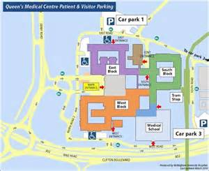 Qmc Floor Plan Travelling By Car Nottingham University Hospitals Nhs Trust