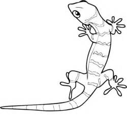 Galerry cartoon gecko coloring pages