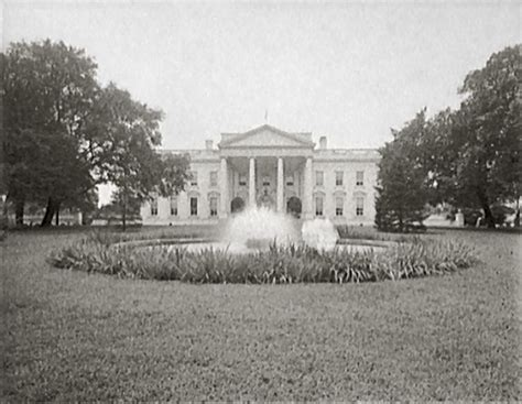 where was the original white house tr renovation white house museum