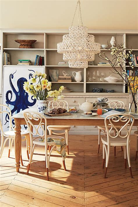 anthropologie dining room biarritz tiered chandelier anthropologie