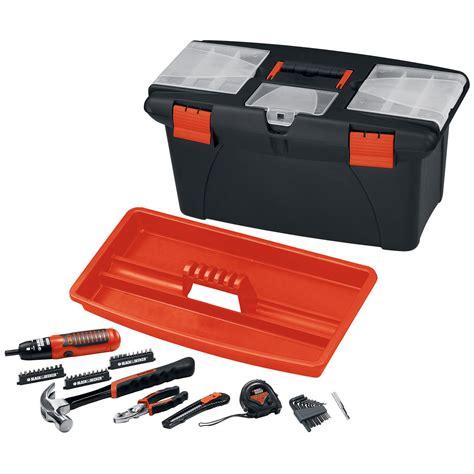 black decker tool kit black decker 49 pc tool kit tools tool sets