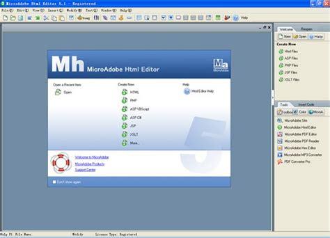 html design wysiwyg microadobe html editor an easy drag drop wysiwyg