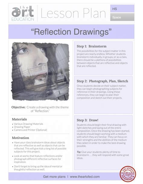 doodle lesson plan reflection drawings free lesson plan the of ed