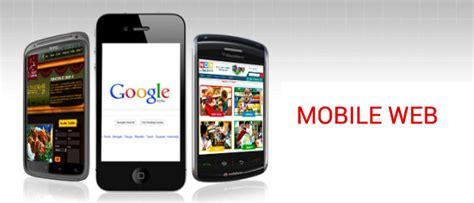 mobile web web based mobile applications development