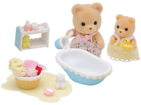 Baby Bath Recliner by Baby Bath Time Sylvanian Families
