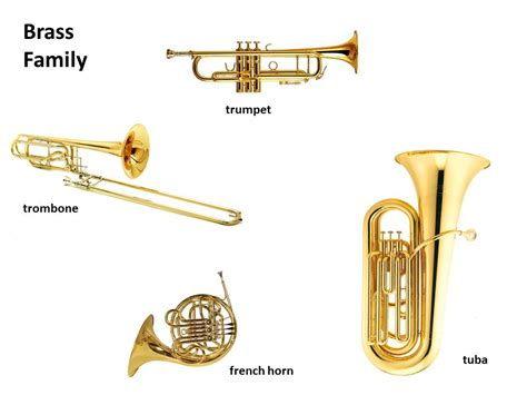 instruments brass family thinglink