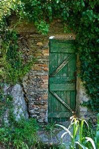 Secret Garden Door Wall Ciao Domenica Garden Gates