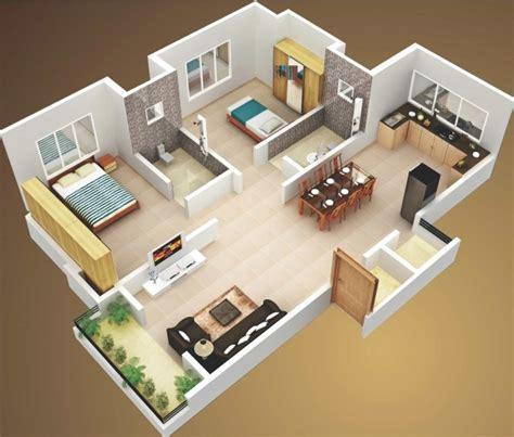 two bedroom house interior design delightful 3d two bedroom house layout design plans 22449