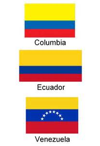 columbia colors why the do colombia and ecuador the