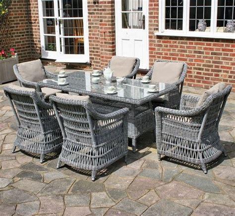 grey rattan outdoor furniture pin by oxana morozowska on garden