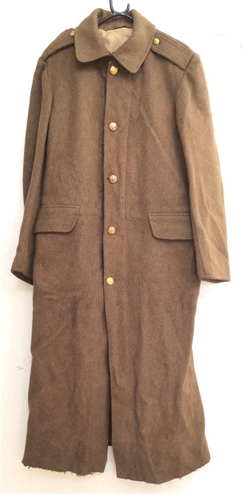 7 Great Coats For by Ww1 Army Third Pattern Greatcoat This Is A