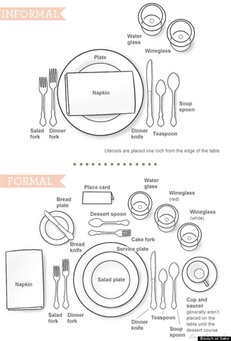 how to set a table how to set a table without being stuffy infographic