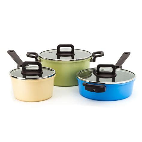 Pan Bolde Sauce Pan 18 Cm Lid Granite Coating Free neoflam philos set of 3 18cm sauce pan 24cm casserole