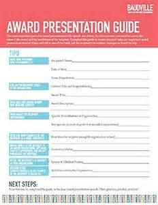 Service Award Speech Templates by Baudville