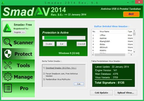 Antivirus Terbaik smadav 2014 terbaru antivirus gratis lokal terbaik indomultimedia