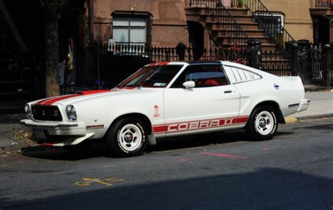 77 mustang cobra 2 exceptionally clean 77 mustang ii a collector s