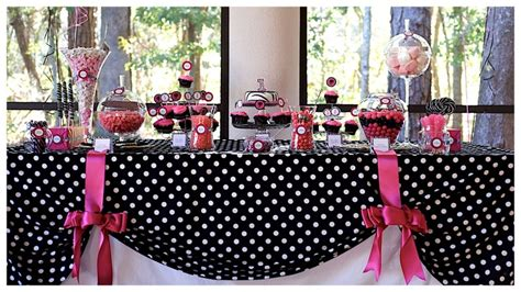Pink And Black Polka Dot Baby Shower Decorations by The World S Catalog Of Ideas