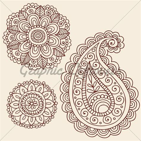paisley pattern vector ai free paisley graphics paisley flowers doodle vector
