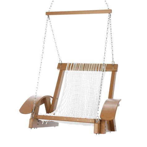 single rope swing cedar durawood curved arm single rope swing