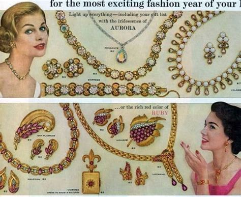celebrity vintage costume jewelry the history of vintage costume jewelry brands