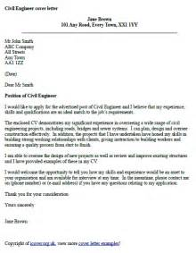Cover Letter For Civil Engineer civil engineer cover letter exle icover org uk