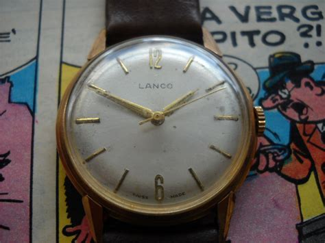 LANCO CAL 1020   tickdong vintage watches
