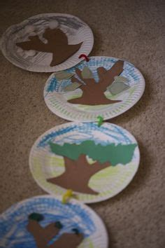 Summer Construction Paper Crafts - four seasons tree craft for preschoolers www