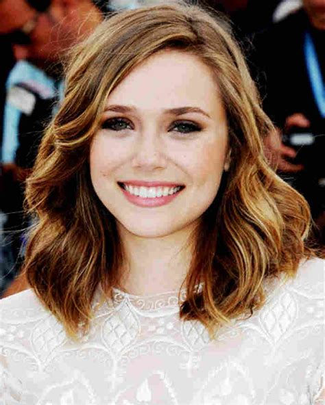 long bob hairstyle  fine hair  side part  waves