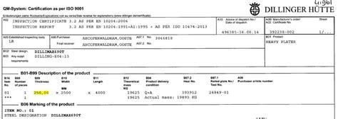 Matabor Besi Nachi 2 5 Mm Original en10204 certification for steel plates