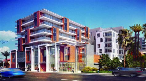 san diego appartments luxury apartments planned for pacific highway site in