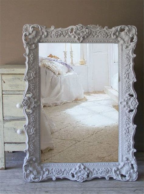 shabby chic bathroom mirror best 25 grey framed mirrors ideas on pinterest grey