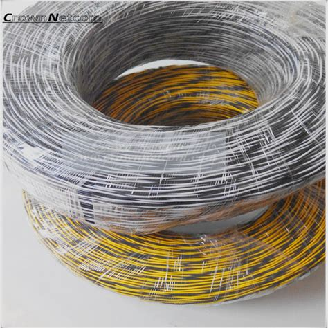 blue and yellow wires cat3 telephone jumper wire 0 5mm blue yellow white