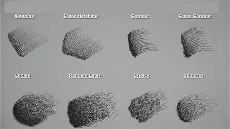 basic pencils for sketching 8 basic pen pencil strokes beginners introduction