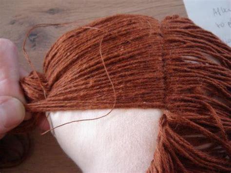 rag doll hair diy how to make dolls hair tutorials how to