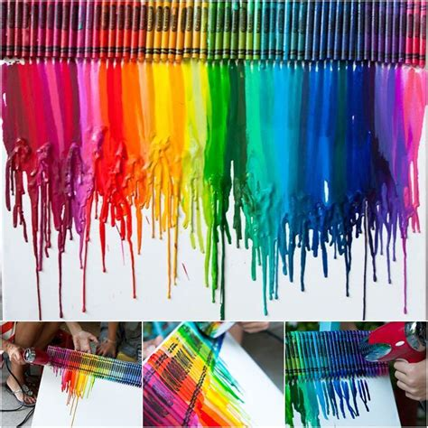 Really Cool Bedroom Ideas creative ideas diy stunning melted crayon art canvas
