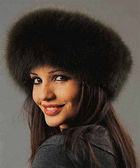 fashionable faux fur hats
