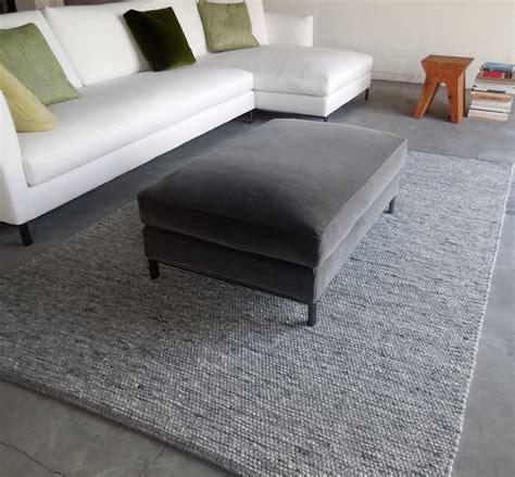 divani verzelloni divano verzelloni pouff rettangolare velluto hton