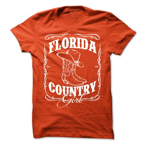 Country T Shirts Florida Country T Shirt