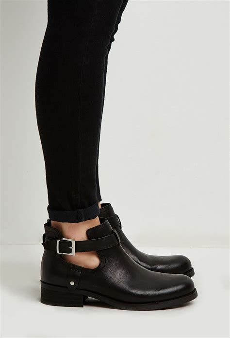 forever 21 ankle boots buckled ankle booties forever 21 stepitup