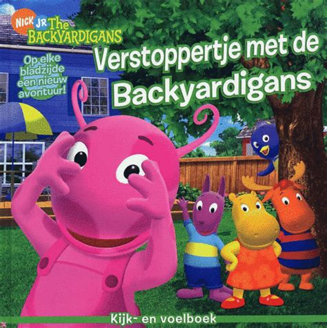 Backyardigans Janice Burgess Bol Verstoppertje Met De Backyardigans Janice
